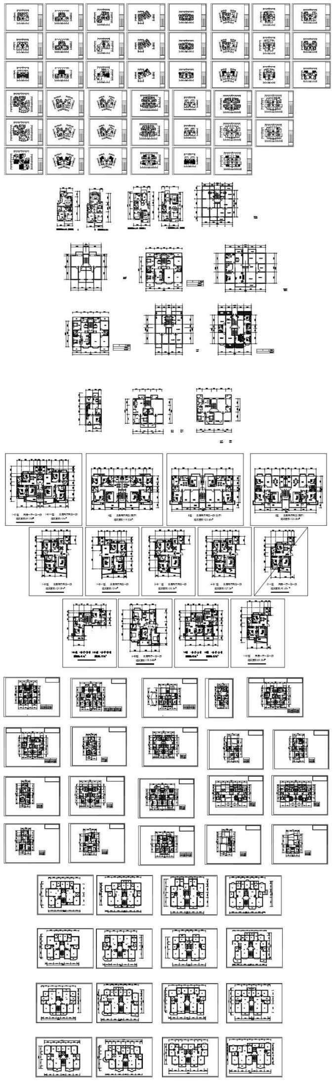 1000 Modern House Autocad Plan Collection Free Autocad Blocks
