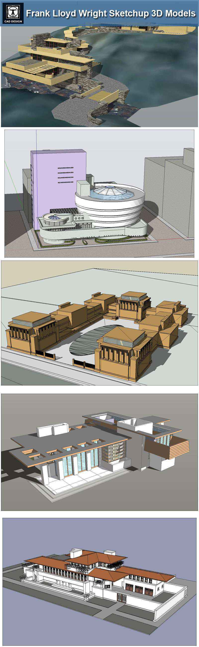16 projects of frank lloyd wright