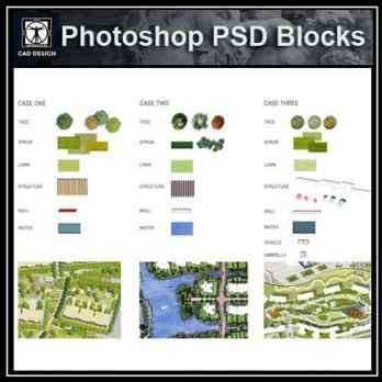 Free Photoshop PSD Blocks – Free Autocad Blocks & Drawings Download