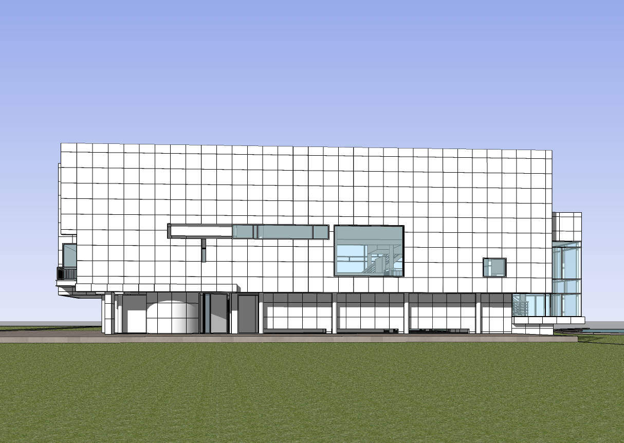 💎Download 14 Projects of Richard Meier Architecture Sketchup 3D on