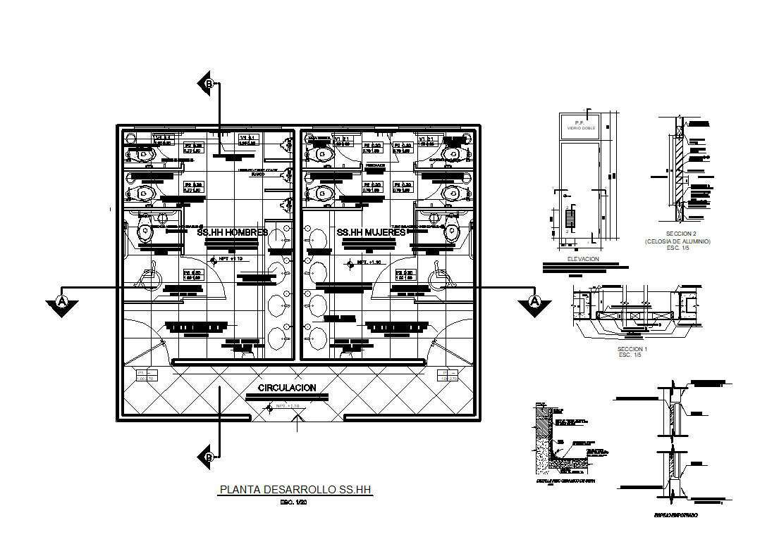 Residential Building CAD Details Collection V.2】Layout