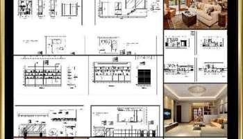 Interior Design Cad Design Details Elevation Collection