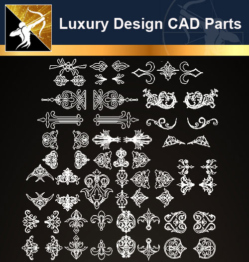 ★【Architecture Decoration Design Element CAD Blocks V 5】@Autocad Decoration  Blocks,Drawings,CAD Details,Elevation