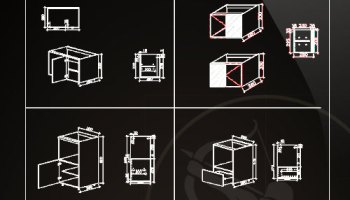 ☆【 System Cabinets CAD Drawings V 3】@Autocad Blocks,Drawings,CAD