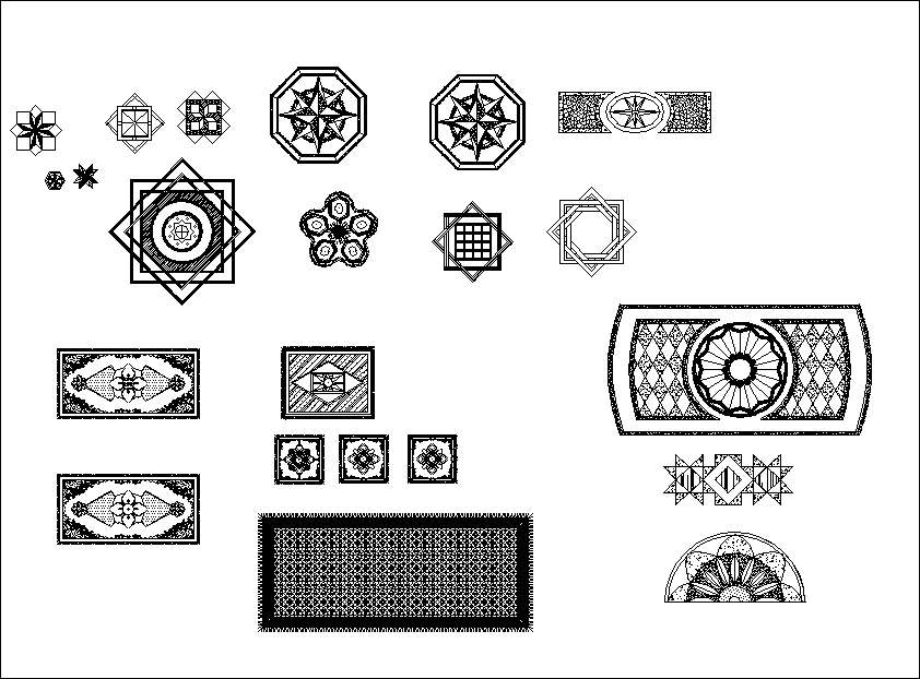 Carpet Gallery Autocad Blocks Collections】All kinds of