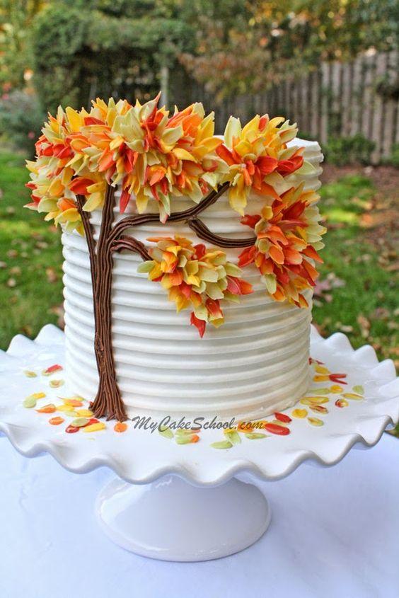 fall-birthday-cake