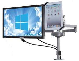 MDM05G twin led lcd monitor arm stands