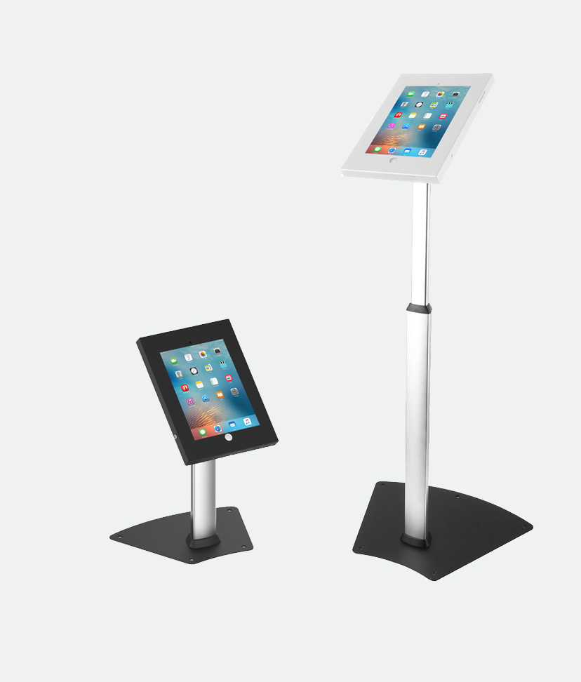 anti-theft ipad tablet floor stands desk stand