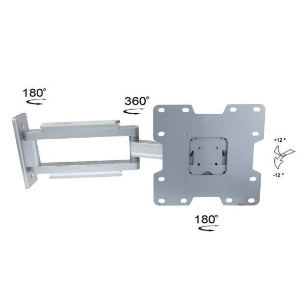 AVD100-series Screen Wall-mounting Bracket with Flexible Arm