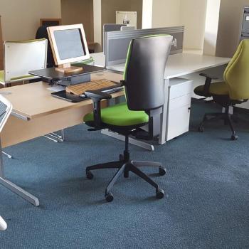Allcam GSS03BAS gas spring sit-stand workstation modern office