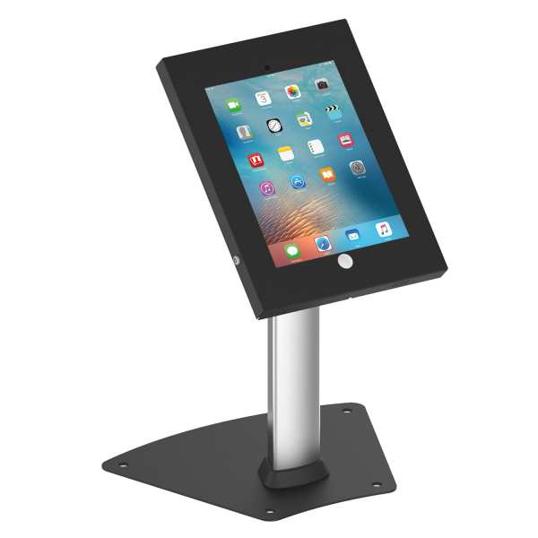 Brateck PAD1204A anti-theft iPad Kiosk / Table Stand Black