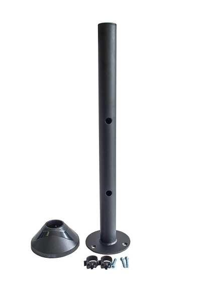 AVM10PS-CIR 40cm pole w/ circular base (bolt onto desk)