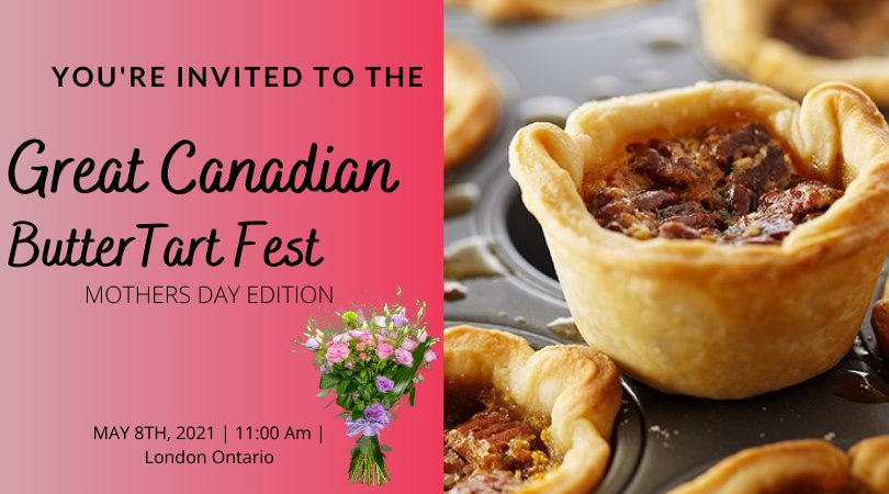 2021 London Buttertart Fest Banner