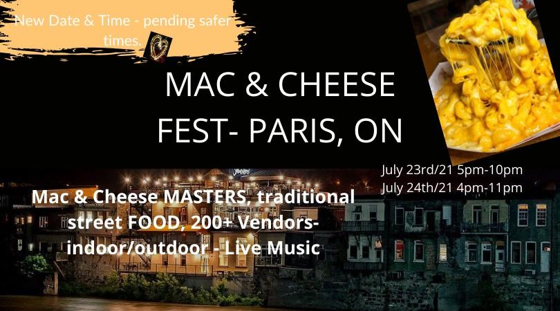 2021 Paris Mac&Cheese Fest Banner