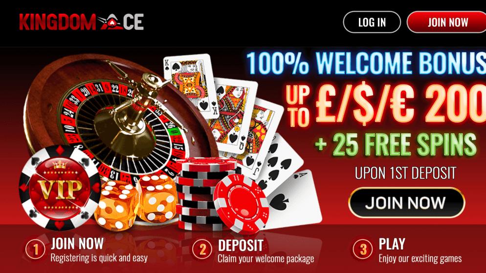 Kingdom Ace-brand new online casino site UK 2019