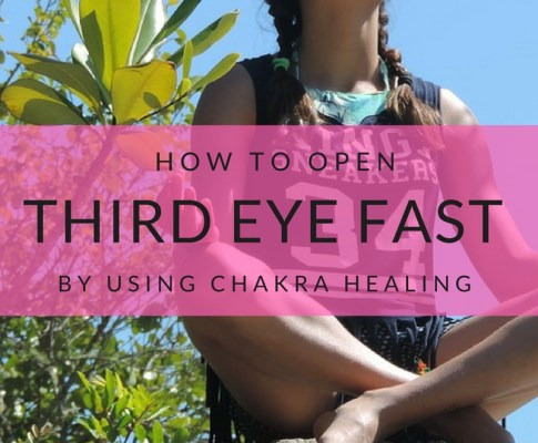How To Open Third Eye Fast By Using Chakra Healing