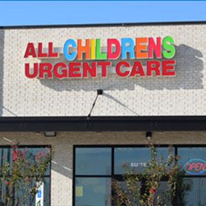All Children's Urgent Care Clinic | Children Health Care ...