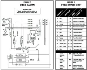 OCM Thermostat Conversion Kit Wiring Diagram