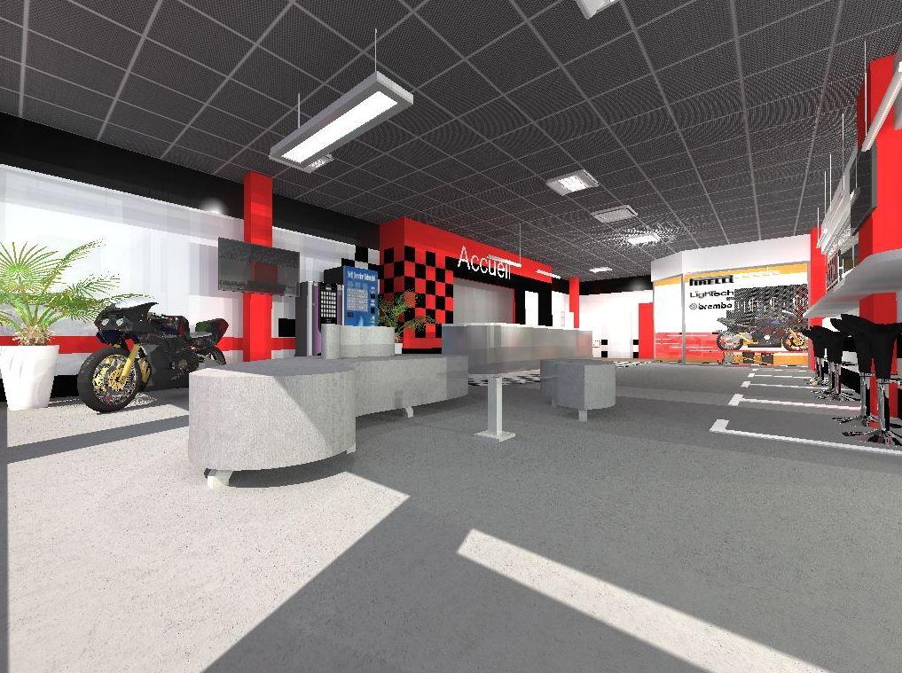 Projet Achitecte Intrieur Agencement Garage Motos Nice