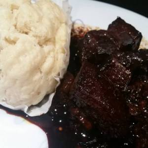 Dongpo (think slow cooked in soy) pork w/steamed buns for #everyfuckingnight