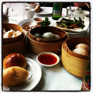 The Berry's Excellent Adventure - yum cha
