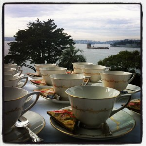 Morning Tea at Kirribilli House