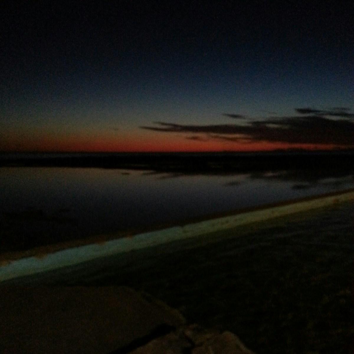 Sunrise at Narrabeen