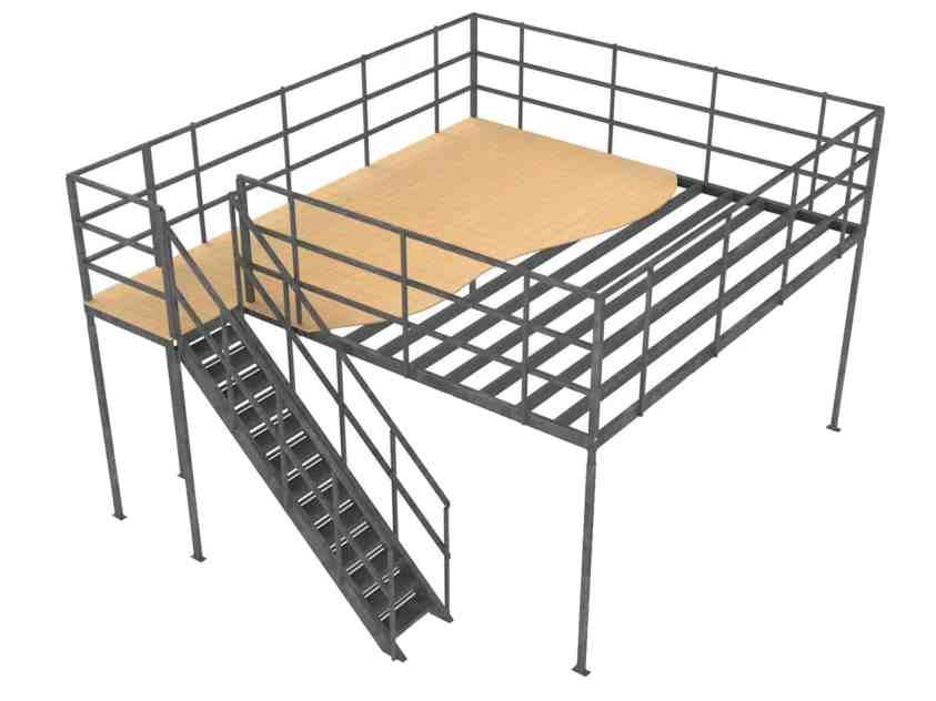 CAD Designed Mezzanine Floors
