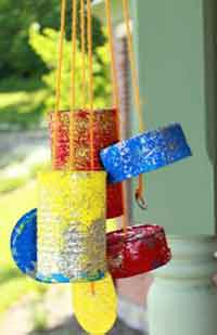 DIY Recycled Windchimes