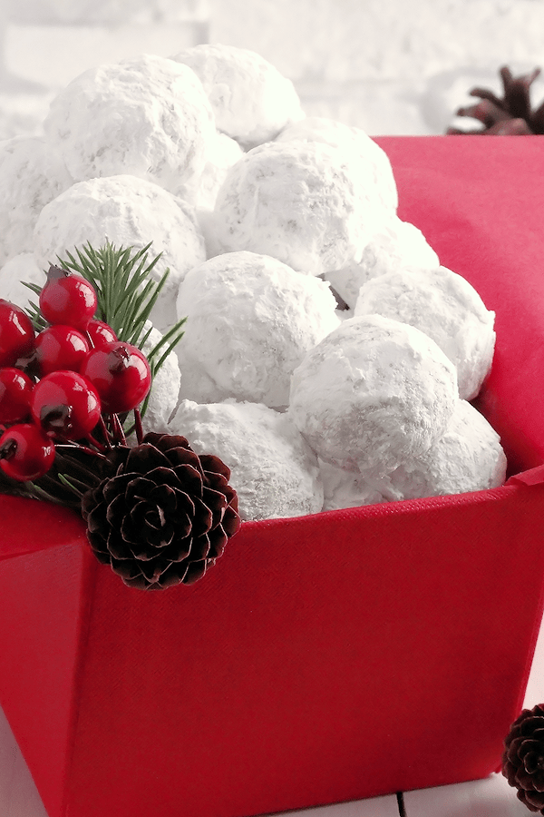 Snowball Christmas Cookies That Are For Eating Not