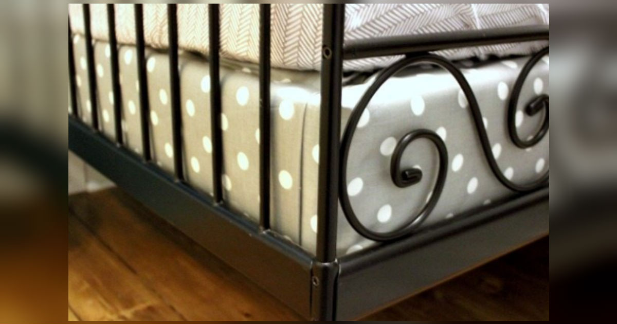 Cover A Box Spring With Fabric To Coordinate With Bedding