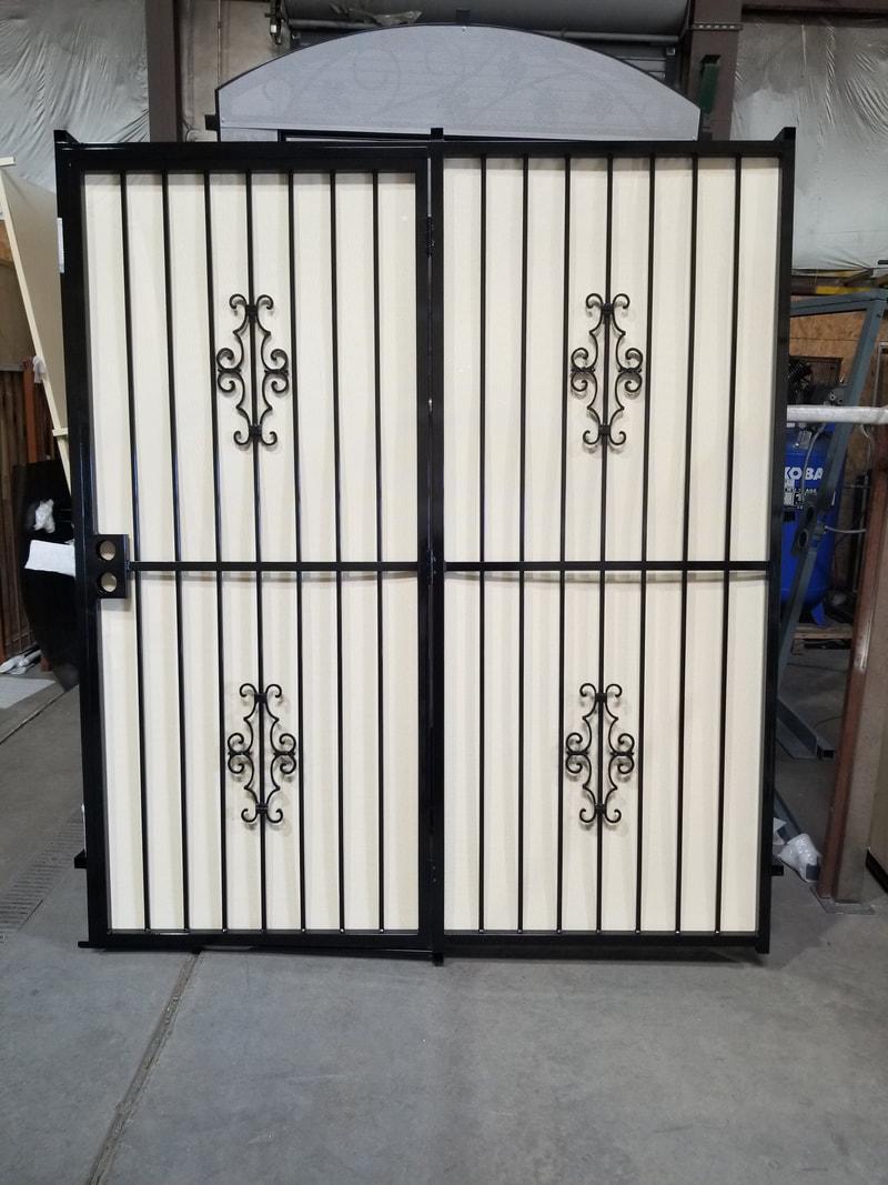 las vegas iron security doors gates