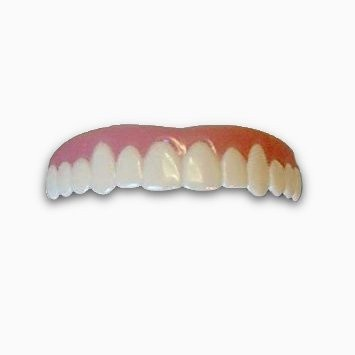 Imako cosmetic teeth 1 pack small natural uppers only arrives imako cosmetic teeth 1 pack small natural uppers only arrives flat fit at home do it yourself smile makeover all dental products solutioingenieria Gallery