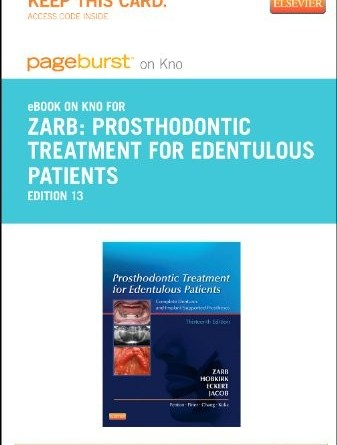 Complete archives all dental products prosthodontic treatment for edentulous patients elsevier ebook on intel education study retail access card fandeluxe Gallery