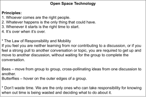Open Space Directions