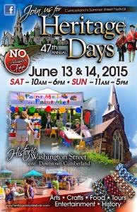 heritage days poster 2015