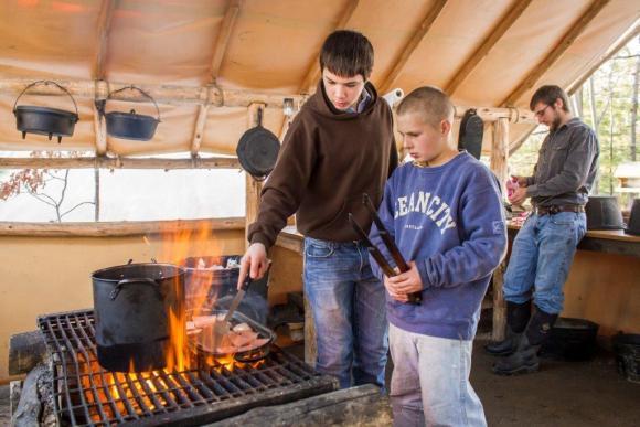 outdoor cooking, dutch oven