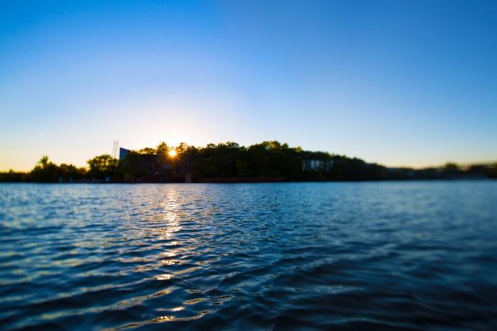 Ohio River Blue Sky