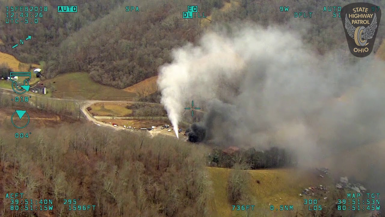 VIDEO: Newly Obtained XTO Well Pad Explosion Footage - The Allegheny