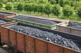 Coal freight trains