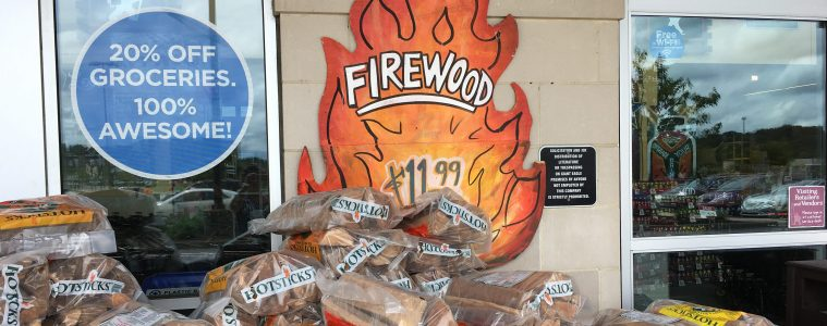 wood for backyard fires