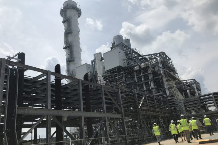 gas-fired power plant