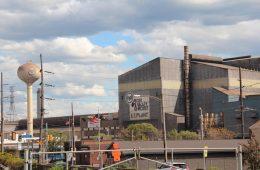 U.S. Steel plant