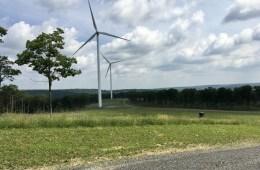 Sandy Ridge wind turbines