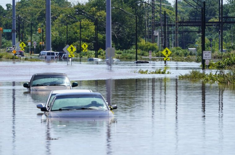 Flooding from remnants of Hurricane Ida