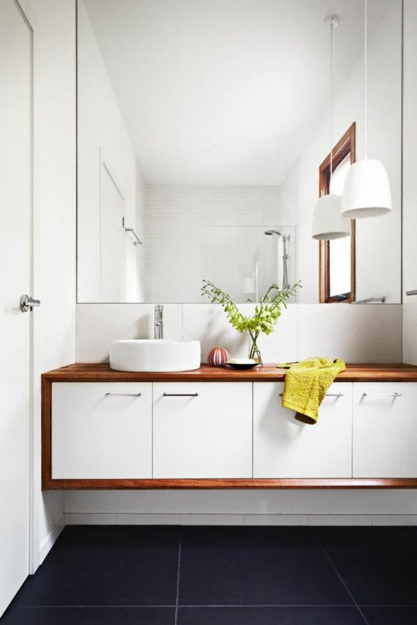 Waschbeckenschrank Aus Holz Elegantes Mbelstck Im Bad