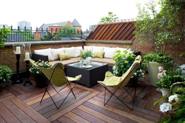 paletten terrasse