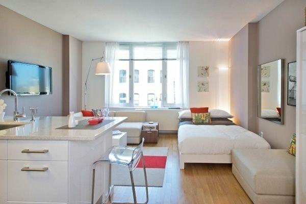 Einzimmerwohnung Einrichten Tolle Und Praktische