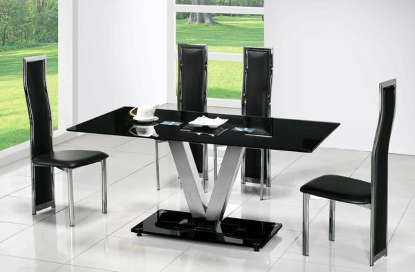Glastisch Fr Die Einrichtung Ihres Esszimmers Pro Und