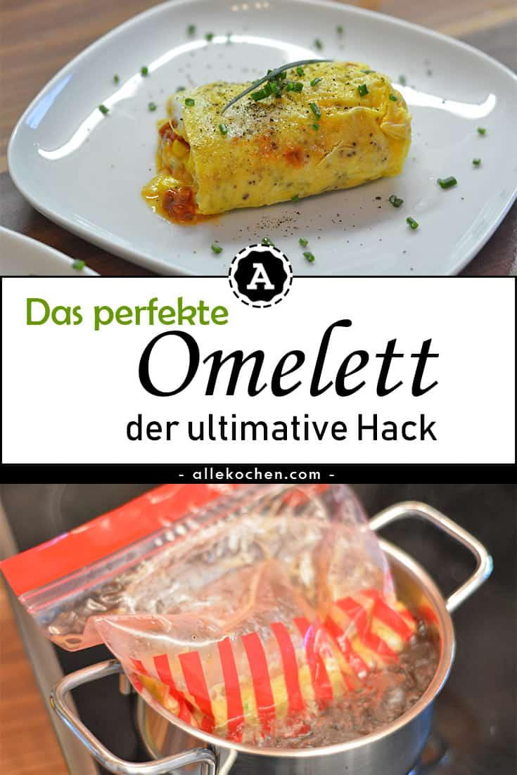 Omelett im Wasserbad - der Hack